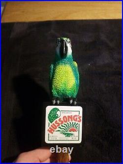 Hussongs Parrot beer tap handles knobs vintage