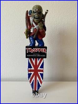 Iron Maiden Trooper Eddie Beer Tap Handle robinsons brewery Heavy Metal. Last 1