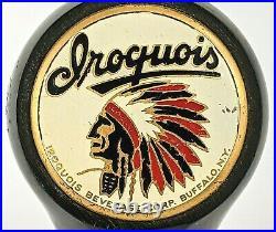 Iroquois Beer Tap Handle Knob Buffalo New York Vintage