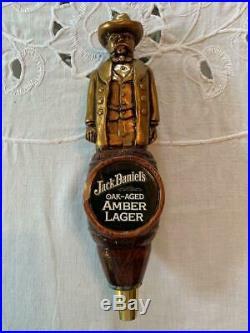 Jack Daniels Rare Oak- Aged Amber Lager Beer Tap/ Handle