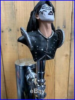 KISS TAP HANDLE Set For Beer Keg Kegerator 4 Gene Paul Peter Ace Rock And Roll