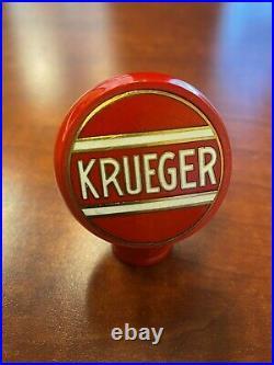 Krueger beer ball tap marker knob handle bakelite vintage antique old