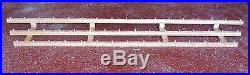 LOT OF 10ea 48 BEER TAP HANDLE DISPLAY (HOLDS 480 TAPS) FOR SERIOUS COLLECTOR