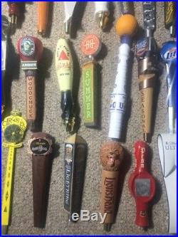 LOT OF 36 Craft-Micro Brewery Beer Tap Handles Tavern Bar Rare Draft