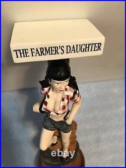LUCETTE FARMERS DAUGHTER beer tap handle. WISCONSIN