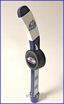 Labatt Blue Light USA Hockey Stick Tap Handle New in Box & Free Shipping 13