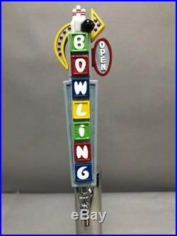 Let's Go Bowling Bar Beer Tap Handle Direct From Ron Lee Art Casting