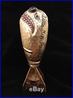 Little Miss Brewing Copper Bomb Beer Tap Handle- Rare Brand NEW. Free Shipping