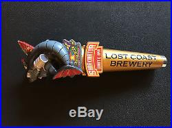 Lost Coast Brewery Sharkinator White IPA beer tap handle NEW
