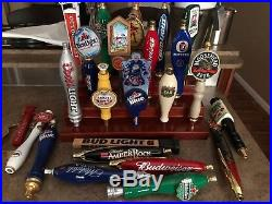 Lot Of 23 Beer Tapper Handle Tap