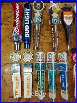 Lot Of 27 Beer Tap Handles