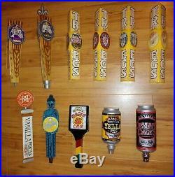 Lot Of 49 Mostly East Coast Area Beer Tap Handles Used See List Below