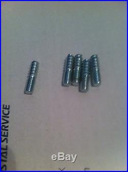 Lot of 100 small hanger bolt set screws. 5/16-18X 1 1/2 For beer tap handle fix