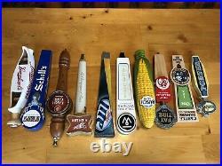 Lot of 10 Beer Tap Handles