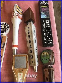 Lot of 22 Beer Tap Handles