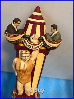 MDW FREAKSHOW STRONGEST MAN ON EARTH tap handle. CALIFORNIA
