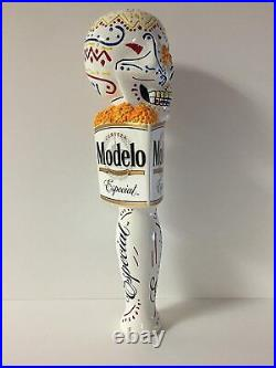 MODELO ESPECIAL Day of the Dead 7 Inch beer tap handle