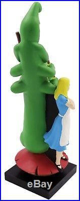 Mellow Mushroom Bogart Alice in Wonderland 3D Figural Beer Tap Handle NIB