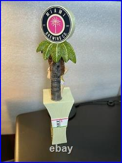 Miami Brewing VICE IPA Bikini Cop Money Keg Tap Handle NEW Florida 12 Tall NIB