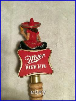 Miller Lady in the Moon Beer Tap Handle Visit my ebay store MGD Lite High Life