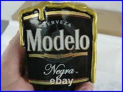 Modelo Negra Day Of The Dead Sugar Skull Candle Beer Bar Tap Handle Black Nib