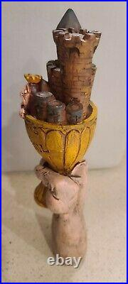 Monty python Holy Grail Grale Tap Beer Handle with choice of one xl shirt