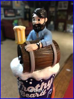 NEW Frothy Beard Beer Tap Handle