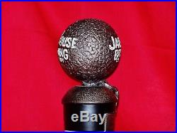 NEW IN THE BOX VERY RARE JAILHOUSE BREWING COMPANY TAP HANDLE withSTICKERS & STAND