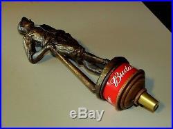 NEW RARE Budweiser Baseball Heritage Tall Classic Beer Tap Handle Kegerator Lot
