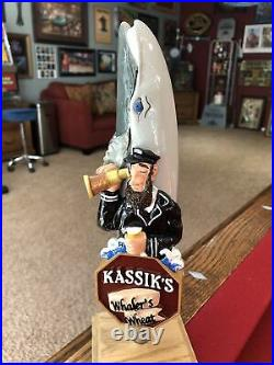 NEW & RARE Kassiks Brewery Beer Tap Handle