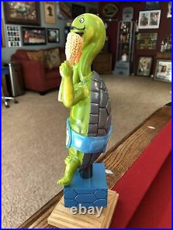 NEW & RARE Tortugo Brewing Beer Tap Handle