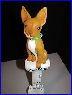 NEW rare Chihuahua Limon Dog beer tap handle Bar Kegerator pull Craft Lot MINT