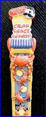 NIB National Bohemian Crab Shack Shandy Beer Tap Handle