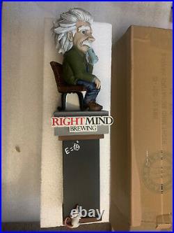 NIB Right Mind Brewing Einstein Tap Handle