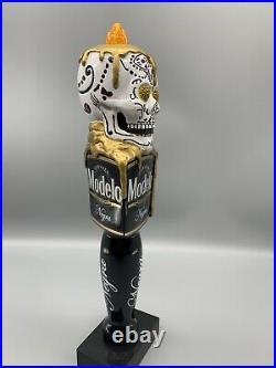 Negra Modelo Day Of The Dead Sugar Skull Beer Tap Handle Dia De Los Muertos New