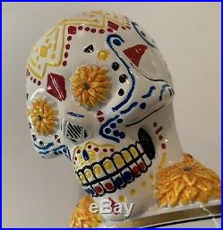 Negra Modelo Sugar Skull tap handle Mint Rare