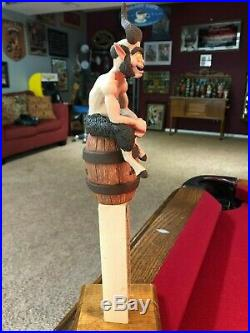 New And Rare Jester King Brewery Thirsty Satyr Beer Tap Handle