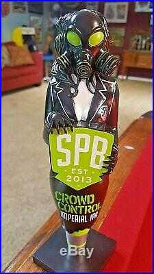 New And Rare Southern Prohibition Brewing Crowd Control Beer Tap Handle