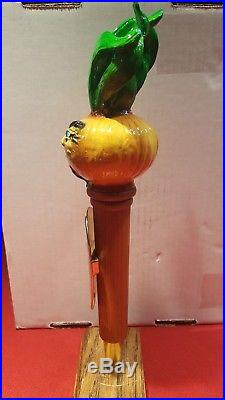 New Mega Rare Wild Onion Brewing Co Phat Chance Blonde Beer Tap Handle