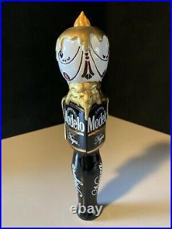 New Modelo Negra Day Of The Dead Sugar Skull Beer Tap Handle Dia De Los Muertos