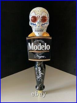 New Negra Modelo Light Up Sugar Skull Beer Tap Handle For Bar Kegerator Lot DDLM