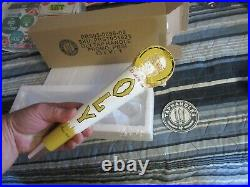 New Olympia Beer Tap Handle With Good Luck Horseshoe Keg Pull Oly Bar Pub Rare