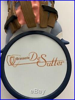 New & Rare Brasserie De Sutter Brewery Crazy Cow Beer Tap Handle
