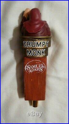 New Rare Samuel Adams (Boston, MA) Grumpy Monk Belgian IPA Beer Ale Tap Handle