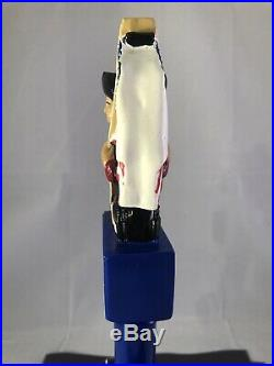 Oceanside Ale Works American Strong Beer Tap Handle Rare Figural AOW Tap Handle