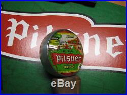 Old Styile Pilsner gas Globe style tap handle Cool double sided