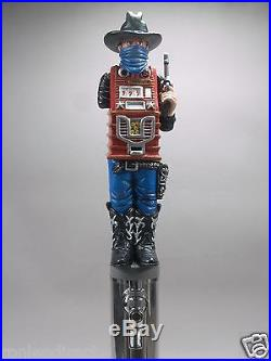 One Arm Bandit(western Slot Machine) Bar Beer Tap Handle Direct From Ron Lee