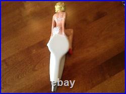 Original Joe's Light girl surfboard tap handle mint