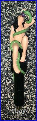 Original Sin Elderberry Cider 10.5 Inch Woman & Serpent Tap Handle