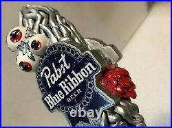 PBR PABST BLUE RIBBON ART SERIES EYEBALLS beer tap handle. Wisconsin